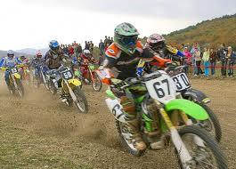 Соревнования по мотокроссу в Белогорске