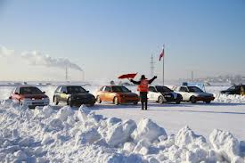 В Благовещенске начался чемпионат по автомобильным гонкам на льду