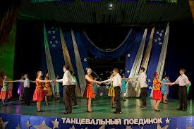 Танцевальный поединок в Благовещенске