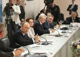 Путин провел совещание в Благовещенске