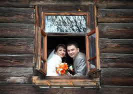 Необычная свадьба  в Новокиевском Увале