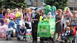 В Перми состоялся парад колясок и детских велосипедов