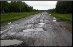 Транспортные перевозки в Тамбовском районе затруднены из-за плохого состояния дорог
