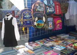Одежда на школьных ярмарках пока не пользуется спросом