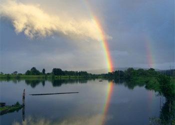 В реке Уркан вода постепенно увеличивается
