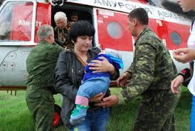 Из посёлка Береговой Зейского района эвакуируют людей