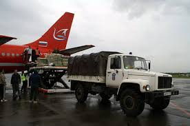 Гуманитарная помощь в Приамурье прибывает из Омской области, Подмосковья и Белоруссии