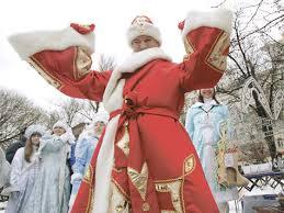 Благовещенск готовится к празднованию Нового года