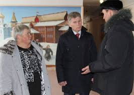 Чиновники встретились с жителями Гродеково