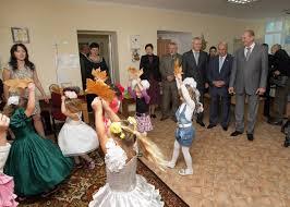 Новому детскому саду Белогорска глава региона подарил цветной принтер