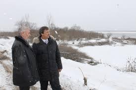 Павел Березовский побывал на набережной Зеи