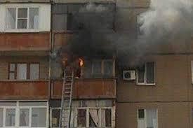 Очередной пожар в Благовещенске