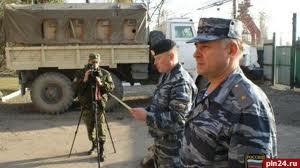 Полицейские побывали в Чечне