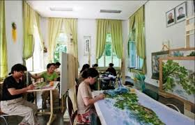 Выставка корейской вышивки