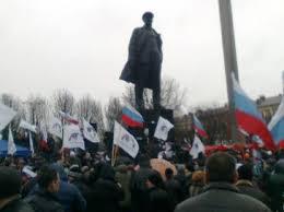 Недавние события в Донецке