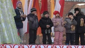 Белогорские школьники отведали на Масленицу блины с джемом