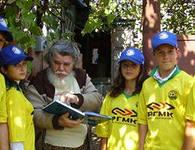 Новая форма работы тимуровцев с ветеранами