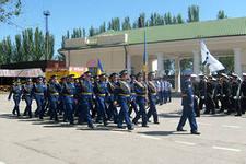 В Белогорске состоялась репетиция парада ко Дню Победы
