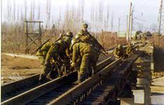 Учения с железнодорожным соединением ВВО
