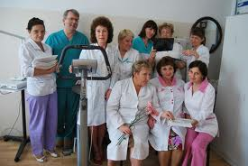 Китайские медсестры отметили профессиональный праздник