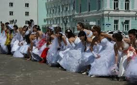 Акция «сбежавшая невеста»
