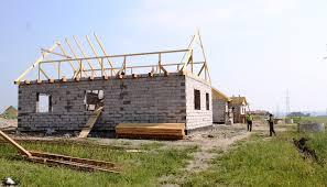 В Чигирях строительство жилья для подтопленцев идет полным ходом