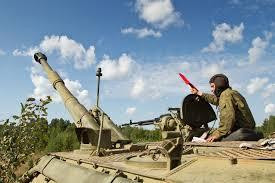 Боевые стрельбы артиллеристов
