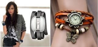 Модные наручные часы для женщин