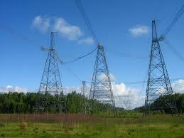 Высоковольтная линия электропередачи до Маломыра