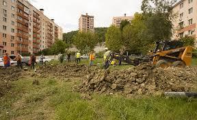 Строительство жилого поселка газохимического комплекса