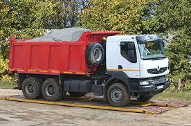 Передвижные весы для тяжёлых грузовиков