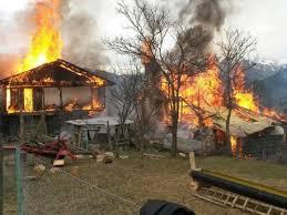 В Белогорске пожароопасная обстановка