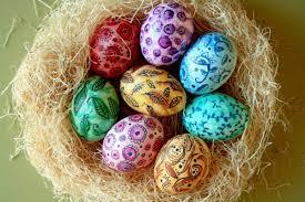 Необычные способы украшения пасхальных яиц
