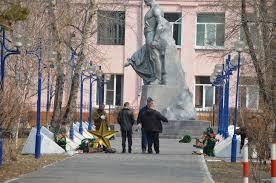 Замена звезд на Аллее славы в Белогорске