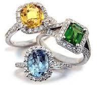 Модные украшения с драгоценными камнями