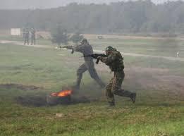 Приамурские военные отразили условную террористическую атаку