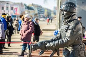 Модель памятника Вежливому солдату передадут в Крым
