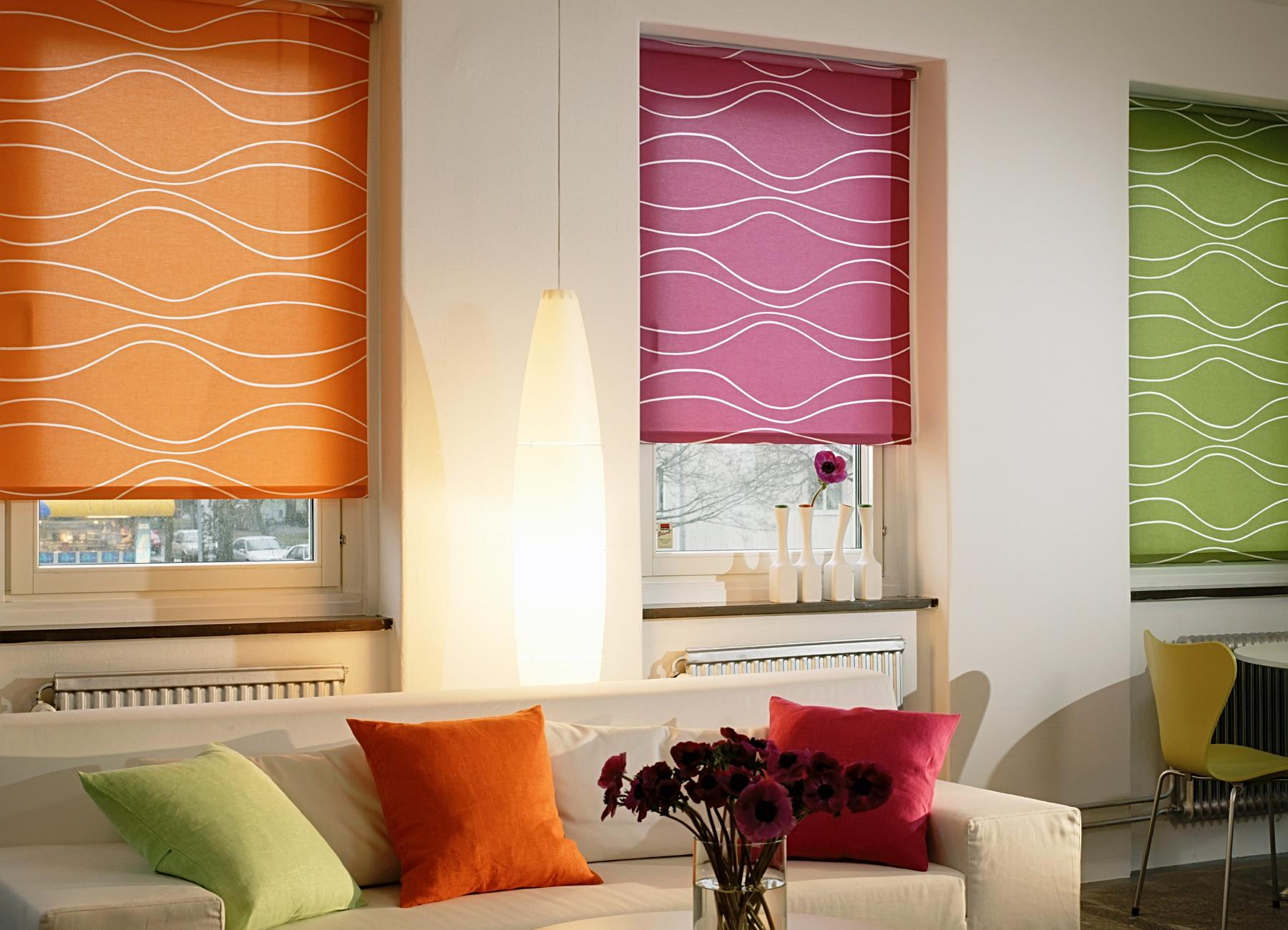 Современные формы штор для окон – жалюзи и рулонные шторы