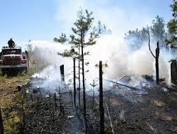 Борьба с пожарами в Амурской области
