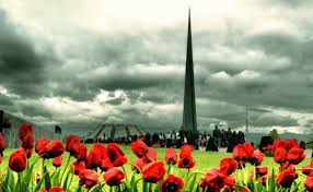 24 апреля  отметили 101-ую годовщину Геноцида армян