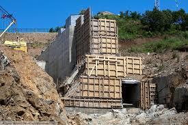 Завершена поставка металлической арматуры для строительства ГЭС