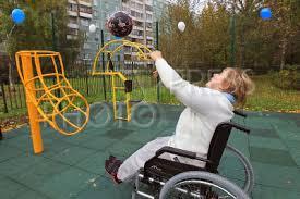 Открылась новая спортплощадка для инвалидов