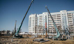 Новая школа строится в Благовещенске