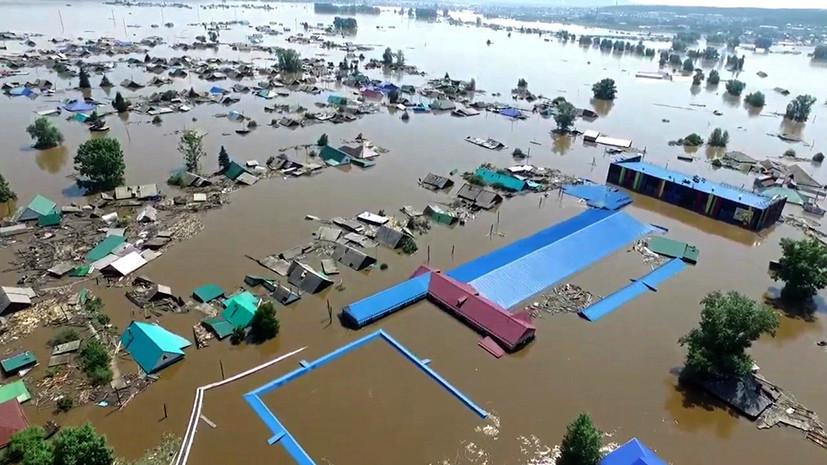 Амурская область помогает Иркутской, пострадавшей от затопления