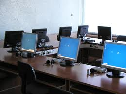 Новый мобильный компьютерный класс в районной школе Благовещенка
