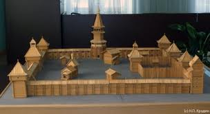 Новая экспозиция Албазинского острога в Амурском краеведческом музее