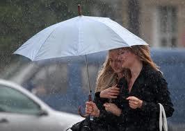 В пятницу ожидаются дожди