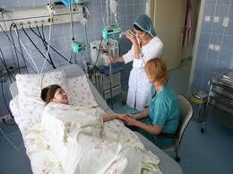 В больницу доставили ортопедические матрасы