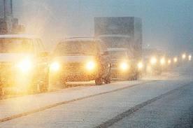 Движение на автомобильной дороге «Лена» остановлено из-за снега