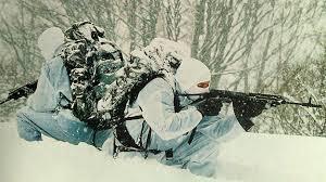 Боевые стрельбы на военном полигоне